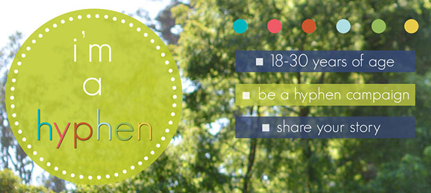 be a hyphen